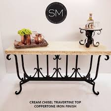 outdoor furniture marble console table
