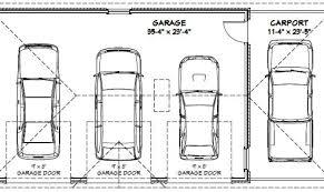 10 Fresh Average Garage Dimensions  Building Plans Online  479854 Car Garage Size