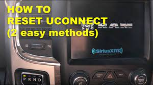 reset uconnect soft reset uconnect