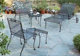 White Iron Patio Furniture Decor Of White Wrought Iron Patio