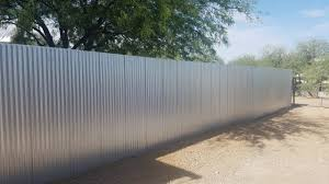 corrugated metal fence als in tucson az