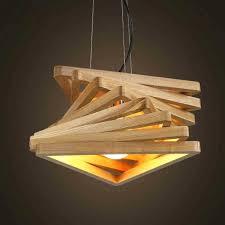 wooden hanging lamp creative design lamp spiral wood pendant lights wooden hanging light rustic pendant lamps living room lighting fixture in pendant lights
