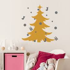 Home Decoration Accessories Wall Art Aliexpress Buy Festival Christmas Tree DIY Wall Sticker 50