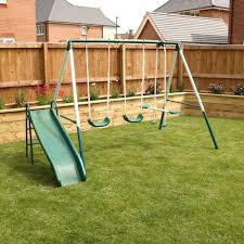 kids garden swing 4pc play set with