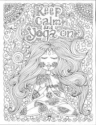 Click on the coloring page to open in a new. Instant Download Yoga On Art For You To Color Be The Artist Coloring Pages Coloring Books Diy Coloring Books