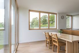 Dining Room With Timberaluminium Windows From Internorm Fenster