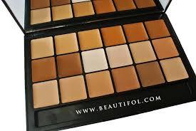 best make up concealer 5 light colors foundation long lasting shading function