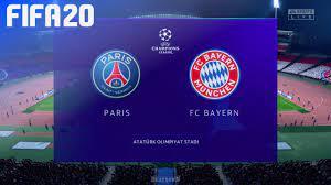 FIFA 20 - Paris Saint Germain vs. FC Bayern München   Champions League  Final - YouTube