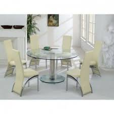 Round glass dining table High Round Glass Dining Table For Wonderful Product Designed Wayfair Round Dining Table For Visual Hunt