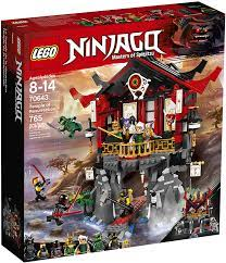 Amazon.com: LEGO NINJAGO Temple of Resurrection 70643 Building Kit (765  Piece): Toys & Games