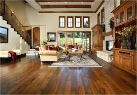 family room area rugs awesome hickory wood floors living room traditional with area rug with regarding