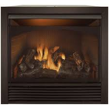 32 000 btu duluth forge dual fuel vent free fireplace insert with trim