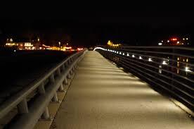 Led Lighting Indianapolis L47 Ll Geist Bridge In Indianapolis Indiana Bridge City