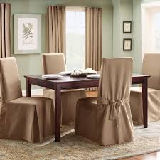 sure fit cotton duck dining chair slipcover pertaining to dining chair covers easy and elegant