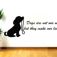 chic dog wall decor decals es vinyl sticker decal from e dog dogs are not