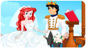 Small Picture Disney Princess Ariel and Eric Wedding Game Perfect Proposal