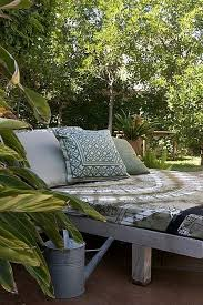 Create an Outdoor Lounge Bed