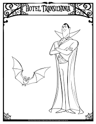 Coloring Pages Ideas Hotel Transylvania Coloring Pages Ideas To