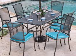 image of pool wrought iron outdoor furniture