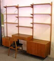 danish teak ps system wall unit