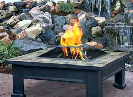 round wood burning fire pit table wood fire pit tables outdoor propane coffee table round backyard