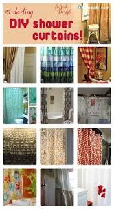 Modern Diy Shower Curtain Ideas Curtains 25 Awesome Inside Inspiration Decorating