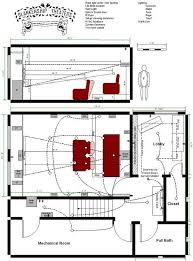 Home Theatre Design Layout Property
