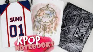 Dream Catcher Shirt Diy DIY KPOP NOTEBOOKS KfreakEnglish Back To School DreamCatcher 51