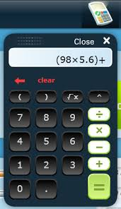 calculator buzzmath help center in addition to the basic four operations the calculator has parentheses square root and exponent functions order of operations is automatically performed