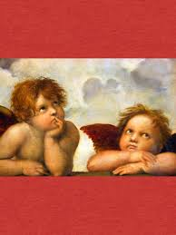 angels cherubs raphael santi sistine madonna sweet by tanabe