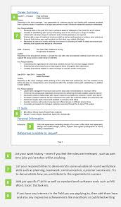 School Leaver Cv Example With Writing Guide And Cv Template