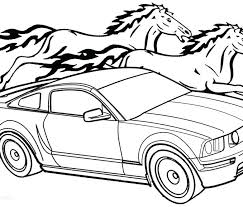 678x578 ford mustang coloring pages ford mustang coloring pages ford