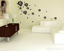 roses flying decal