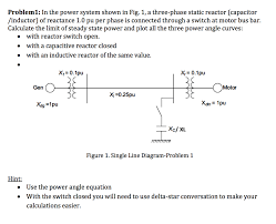 problem1 in the power system shown in fig 1 a three phase