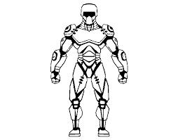 Disegno Di Robot Combattente Da Colorare Acolorecom
