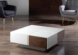 ... White Stunning Contemporary Square Coffee Table Ideas Amazing  Inspiration This Unique Decoration Slate Top ...