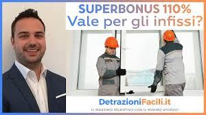 Superbonus 110 % vale anche per gli infissi ? - YouTube