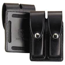 White Leather Magazine Holder Stunning Strong Leather Double Magazine Pouch Model A32