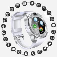 Wireless Bluetooth <b>Touch Screen Smart Watch</b> Reminder Monitor for ...
