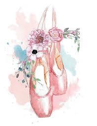 ballerina dancer en pointe printable