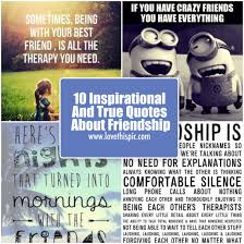 Photo Quotes About Friendship 100 Inspirational And True Quotes About Friendship 85