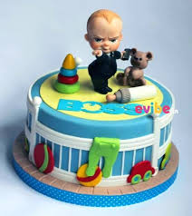 Order Cutest Boss Baby Theme Cake Online Birthday Cake In