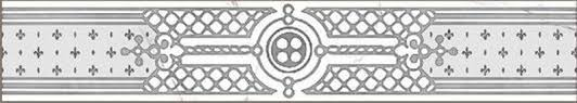 <b>Бордюр</b> Керамогранит Classic <b>Marble</b> Белый G-270/G/f02 7x40 ...