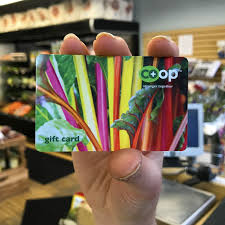 co op gift card