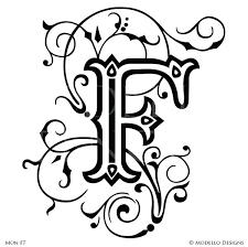 letter stencils for wall letter f custom adhesive stencils monogram wall art custom stencils large letter letter stencils