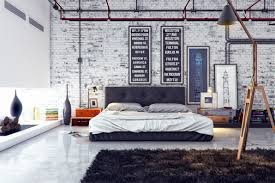 Exposed Brick Wall Bedrooms With Exposed Brick Walls Viportal Homes