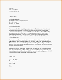 Awesome Collection Of Sample Scholarship Application Letter Pdf