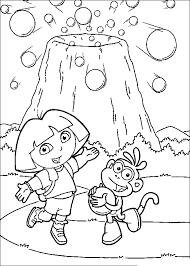 Dora Kinder Kleurplaten Boots