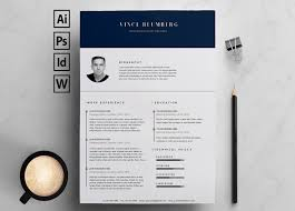Word Resume Template Interesting 48 Eye Catching CV Templates For MS Word Free To Download