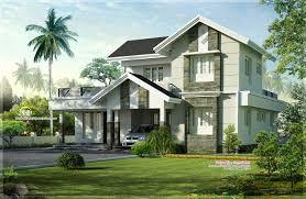 1975 Sq Feet Nice Home Exterior Design Kerala Home Design And